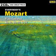 Everybodys Mozart Piano Concertos No 17 20 22 and