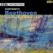 Everybodys Beethoven Symphonies 1 2 5 7