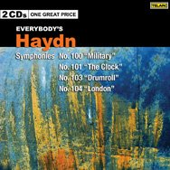 Everybodys Haydn Symphonies No 100 Military No 101