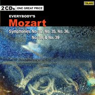 Everybodys Mozart Symphonies 32 35 36 38 39