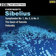 Everybodys Sibelius Symphonies 1 2 5 Swan of Tuone