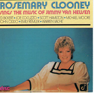 Rosemary Clooney Sings The Music Of Jimmy Van Heus