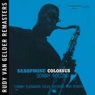 Saxophone Colossus Rudy Van Gelder Remaster