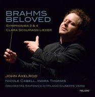 Brahms Beloved Symphonies 2 4 Clara Schumann Liede