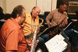 Joe Lovano, Dave Liebman & Ravi Coltrane